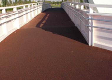公園歩道橋 混色(レッド、ブラック)